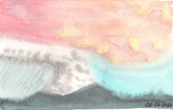 Il vulcano Puyahuè