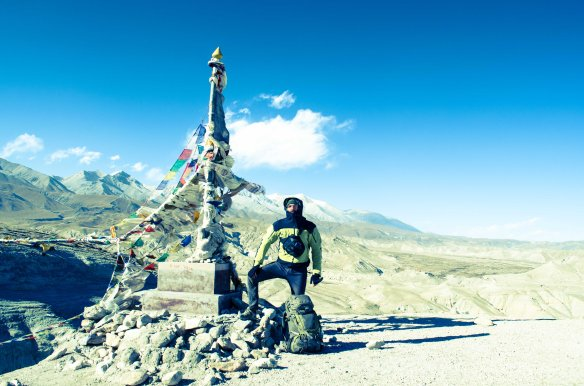 Almost in  Lo Mantang - Upper Mustang 2012